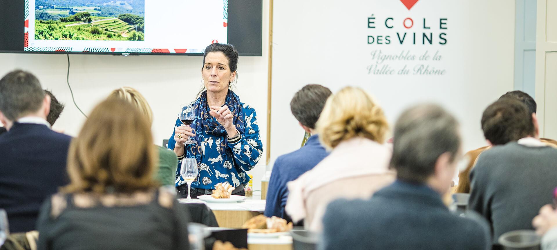 """Atelier """"Bulles"""" : les effervescents des vignobles de la Vallée du Rhône"""