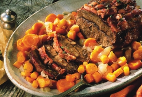 Bœuf braisé aux carottes